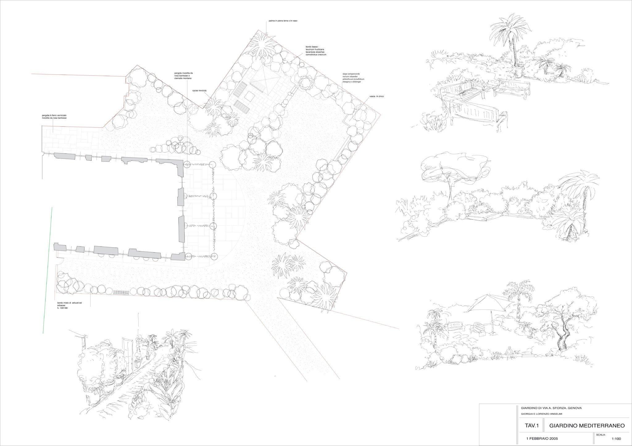 Tavola-planimetria